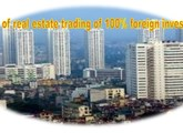 Forms of real estate trading of 100% foreign invested company in Vietnam