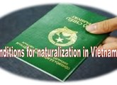 Conditions for renunciation of Vietnamese nationality